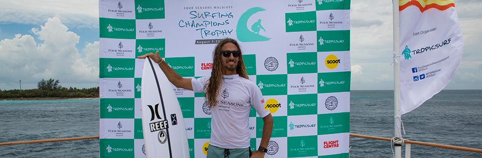 Californian style guru Rob Machado wins Single Fin Divison
