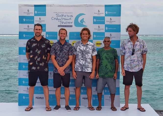 Four Seasons Maldives kicks off 9th edition of Surfing Champions Trophy